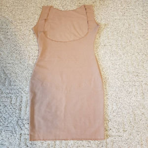 Suzanne Somers Tummy Control  Underdress Shape wear Size S Color Honey